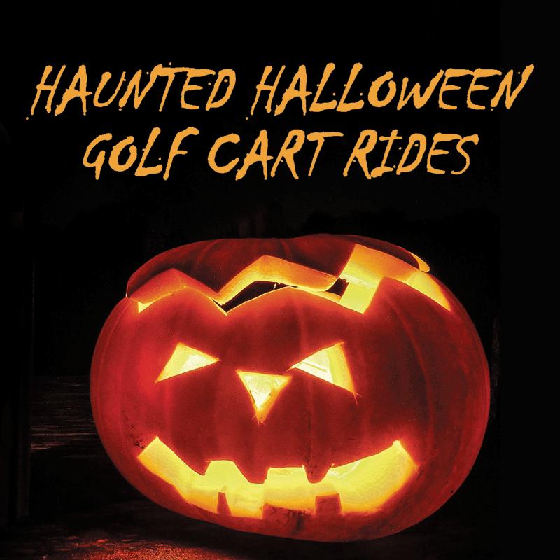Haunted Halloween Golf Cart Rides