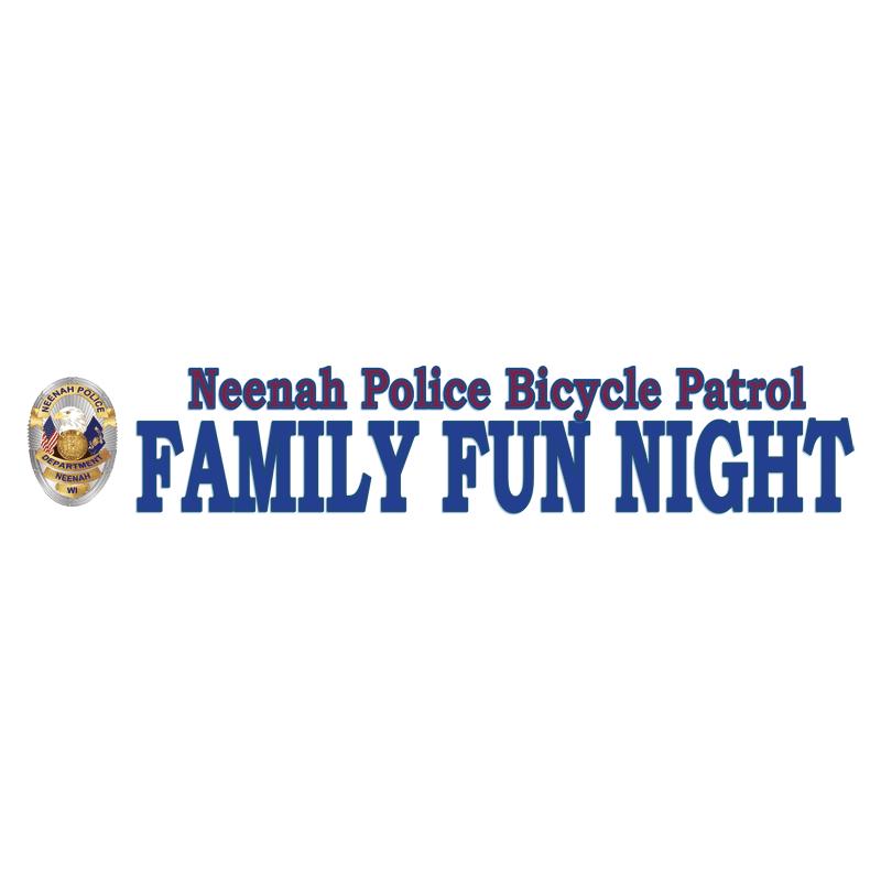 Neenah Police Bicycle Patrol Family Fun Night 2019